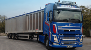 Transport routier en camion